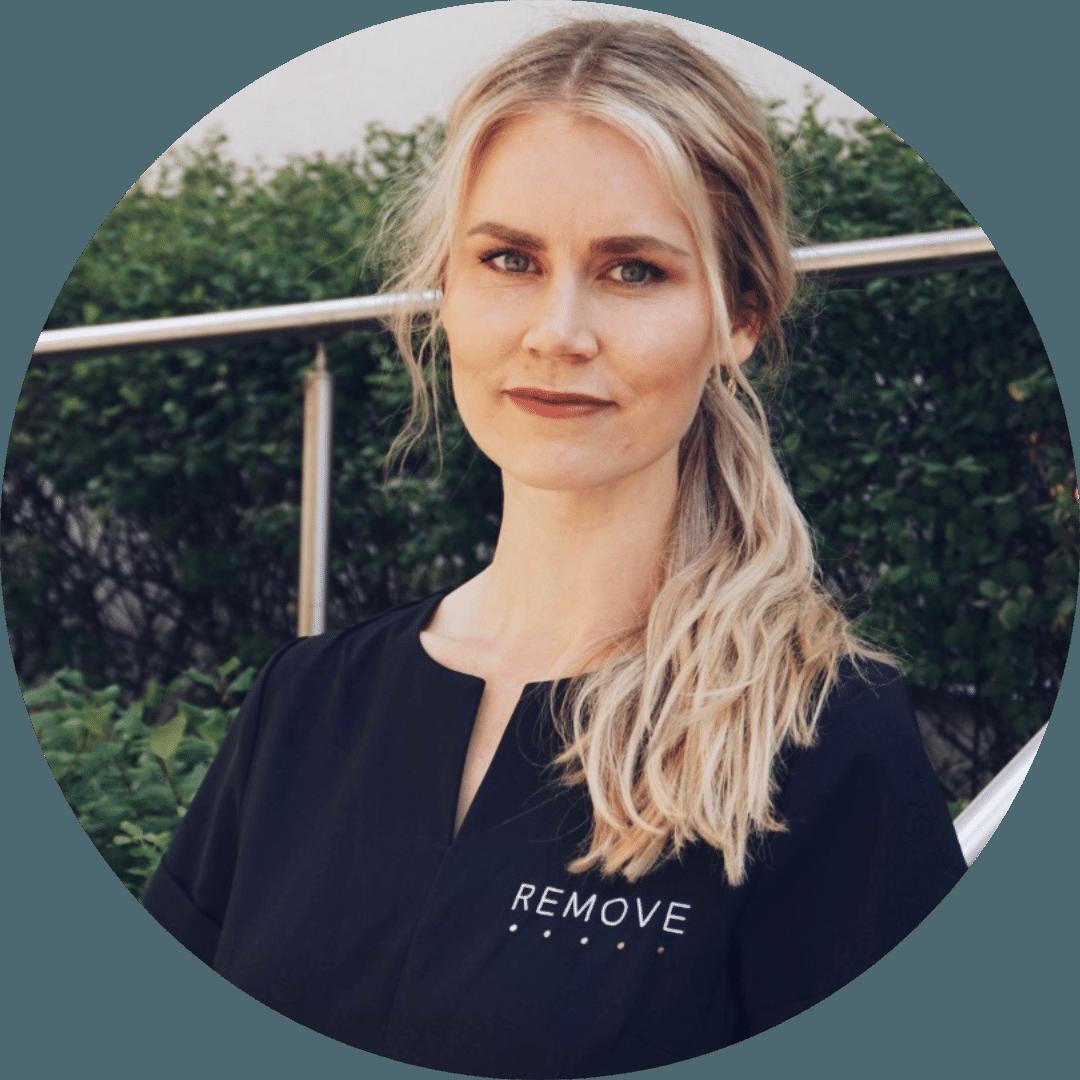 Profilbilde: Caroline Moldrem – Kosmetisk sykepleier ved Remove Hudklinikk, Oslo